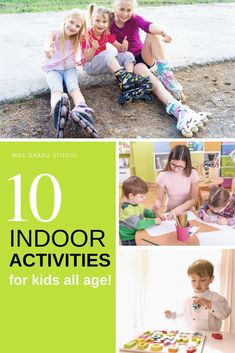 10+ Indoor Activities for Kids all age to Burn Energy - toddlers or older kids in preschool, kindergarten, or elementary school, being stuck at home These no fuss ideas are great boredom busters and easy to do! #stuckathome #boredkids