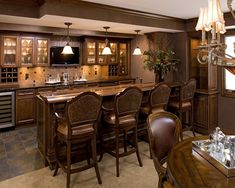 Basement Bar Design