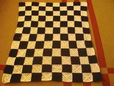 Diário de algodão: Manta xadrez