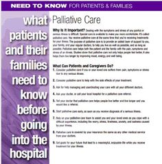 What you need to know before you go into the hospital: you have the right to effective pain management and palliative care! Find out about palliative care and take this quiz to see if it's right for you and your situation. pain management, palliative care, palliat care