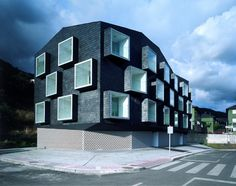 Social Housing for Mine Workers, designed by Zon-e Arquitectos #architecture