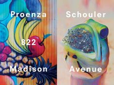 Proenza Schouler posters by Peter Miles via 01 Magazine