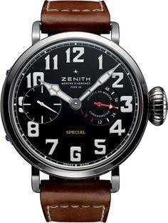 Zenith Montre d'Aeronef Type 20 Pilot's Watch