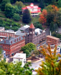 Jim Thorpe Pa.  Another great small town.