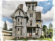 The Knox House, which also housed The Old Hickory Tavern, Coudersport, PA deviantart, houseold hickori, find beauti, structur art, hickori tavern, old houses, knox houseold, abandon, coudersport pa