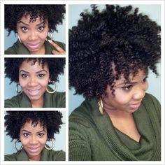 Natural hair blogger - Yolanda Renee.