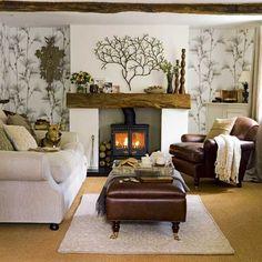 i love the fireplace