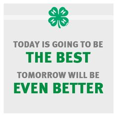 4-H... To make the best better.