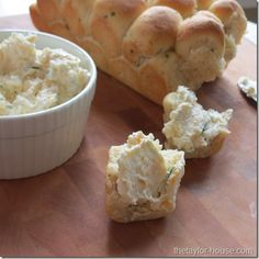 Herb and Cheese Pull Apart Bread
