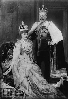 Edward VII's Coronation Crowns