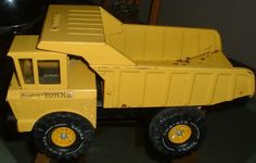 Yeah, The Old Metal Tonka Trucks that could knock you unconcious, lol.