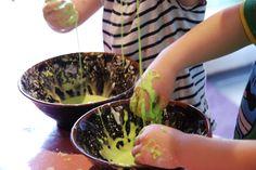 Making goo or gloop or slime