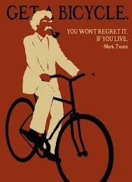 Get a bicycle...