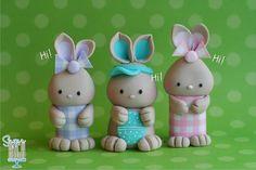 Cute Bunny tutorial by Sugar High, Inc.