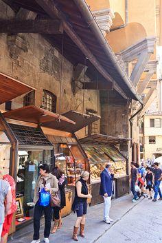 On The Ponte Vecchio, Florence, Italy