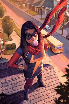 Kamala Khan's Ms. Marvel