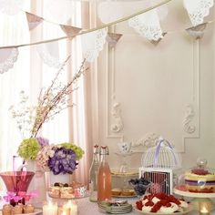 beauty inspired tea party.
