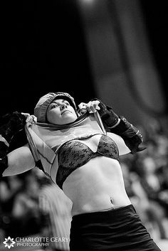 This is roller derby