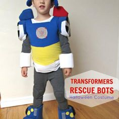 Transformer Rescue Bot Costume {how-to}