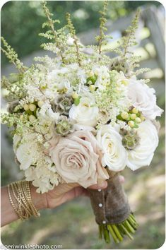 Bouquet shape / size example - spiky textures ok but not trailing or heavy greenery