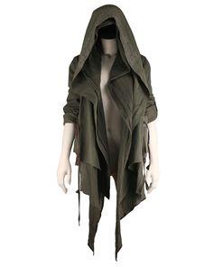 style, hooded jacket, hood jacket, nichola, jackets, stud, dystopian clothing, wear, postapocalyptic fashion