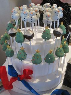 Christmas in July Cake