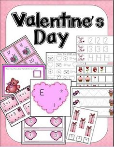 lots of valentines day printables