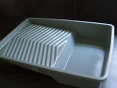 Felters Journey: paint roller tray as a felting basin