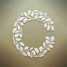 Botanical Alphabet by Seth Mach, via Behance