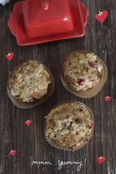 recipe for scrumptious strawberry muffins