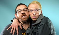 British actors/writers Nick Frost (left) and Simon Pegg (right) are on the show today to talk about their new film The World's End:  F...