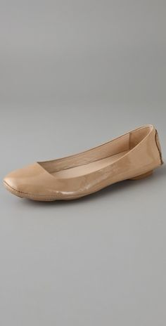 KORS Michael Kors Odette Patent Flats - want these in nude, black and blush