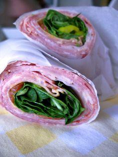 Health-Bent | Recipes | Paleo Italian Sub Roll-Up