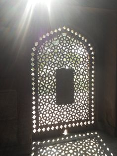 Traditional 'jaali' in Mughal architecture #design #inspiration