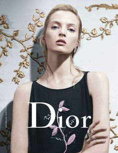 Daria Strokous photographed by Willy Vanderperre for Christian Dior
