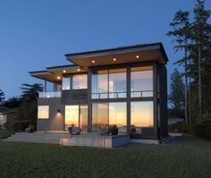 houses, cleanses, dreams, modern exterior, dream homes