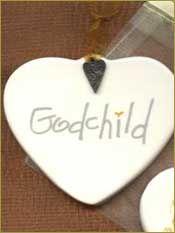 Godchild Ornament - $15.00 Baptism Gift
