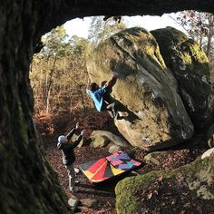 Bouldering with Daniel Woods