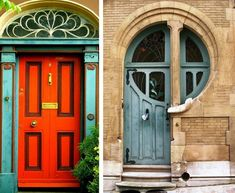front doors-the one on the right!