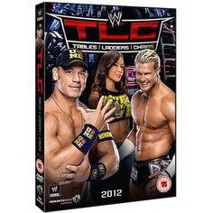 TLC: Tables Ladders & Chairs 2012 on DVD autographed by John Cena, Dolph Ziggler and AJ Lee #WWE