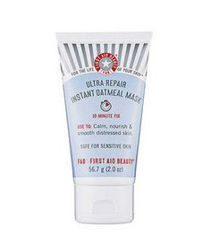 Best Face Mask for Sensitive Skin: Ultra Repair Instant Oatmeal Mask from First Aid Beauty