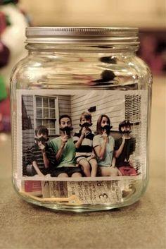 Year in a jar.