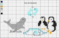 Chez Mounette: point de croix : diagramme