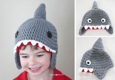 Crochet Shark Hat « The Yarn Box