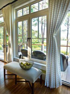decor, idea, curtains, living rooms, dreams, window, bench, dream homes, hgtv dream