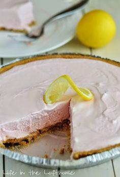 Frozen Pink Lemonade Pie   Life in the Lofthouse
