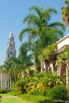 Museum of Man and the California Tower Photos, Balboa Park, San Diego