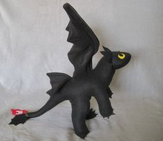 Toothless the Dragon for Ethan!
