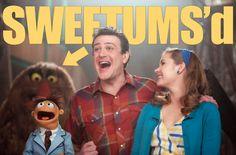 Muppets photobomb.