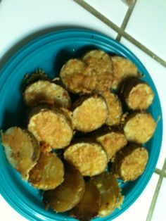 I made this today, I got the recipe off of here it is the Parmesan Baked Potato Halves, very good!